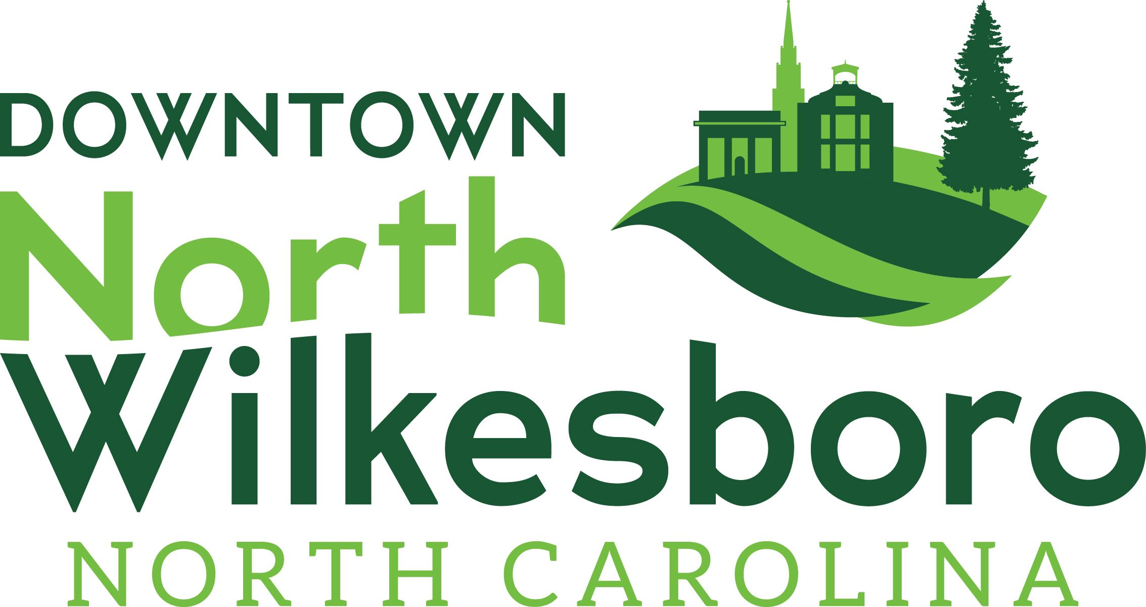 Downtown North Wilkesboro Icon