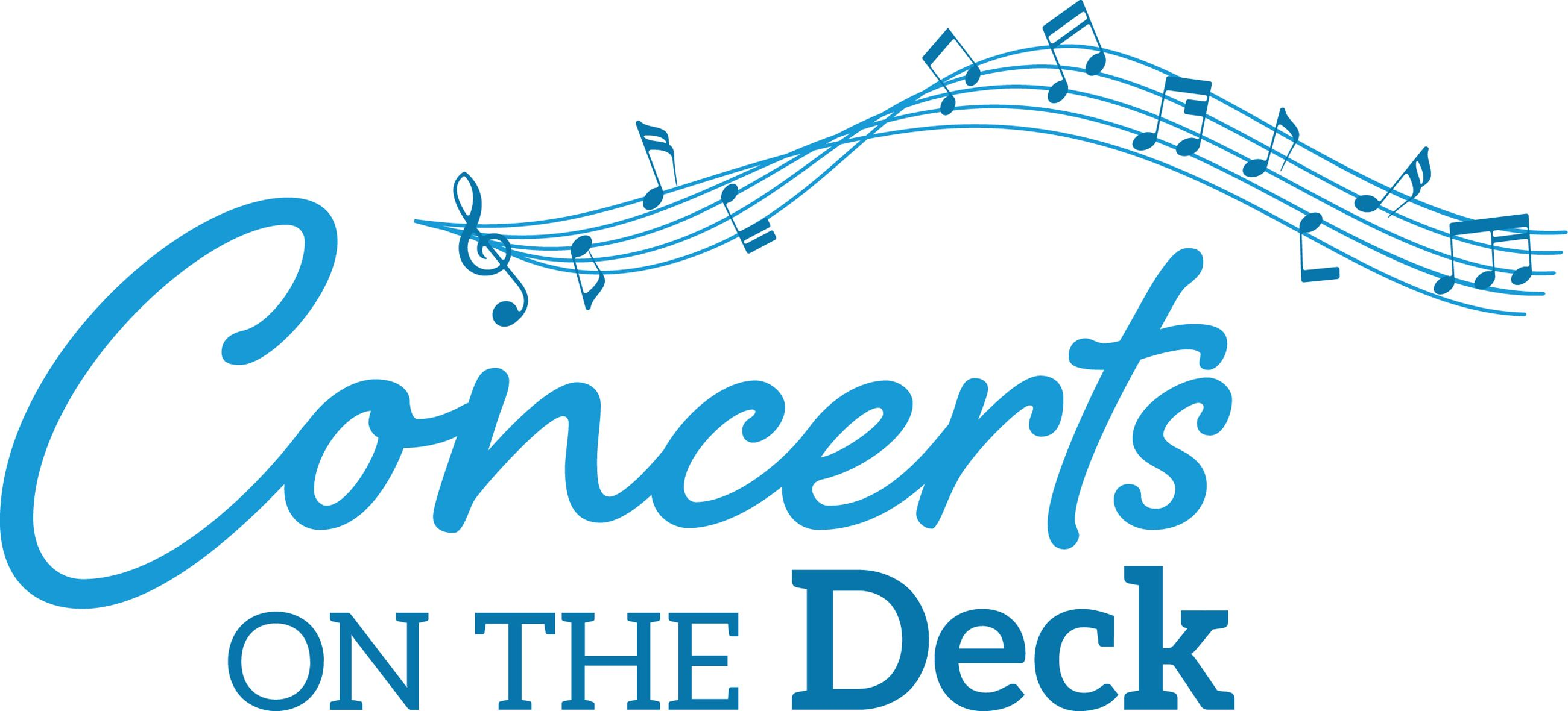 Concerts on the Deck logo